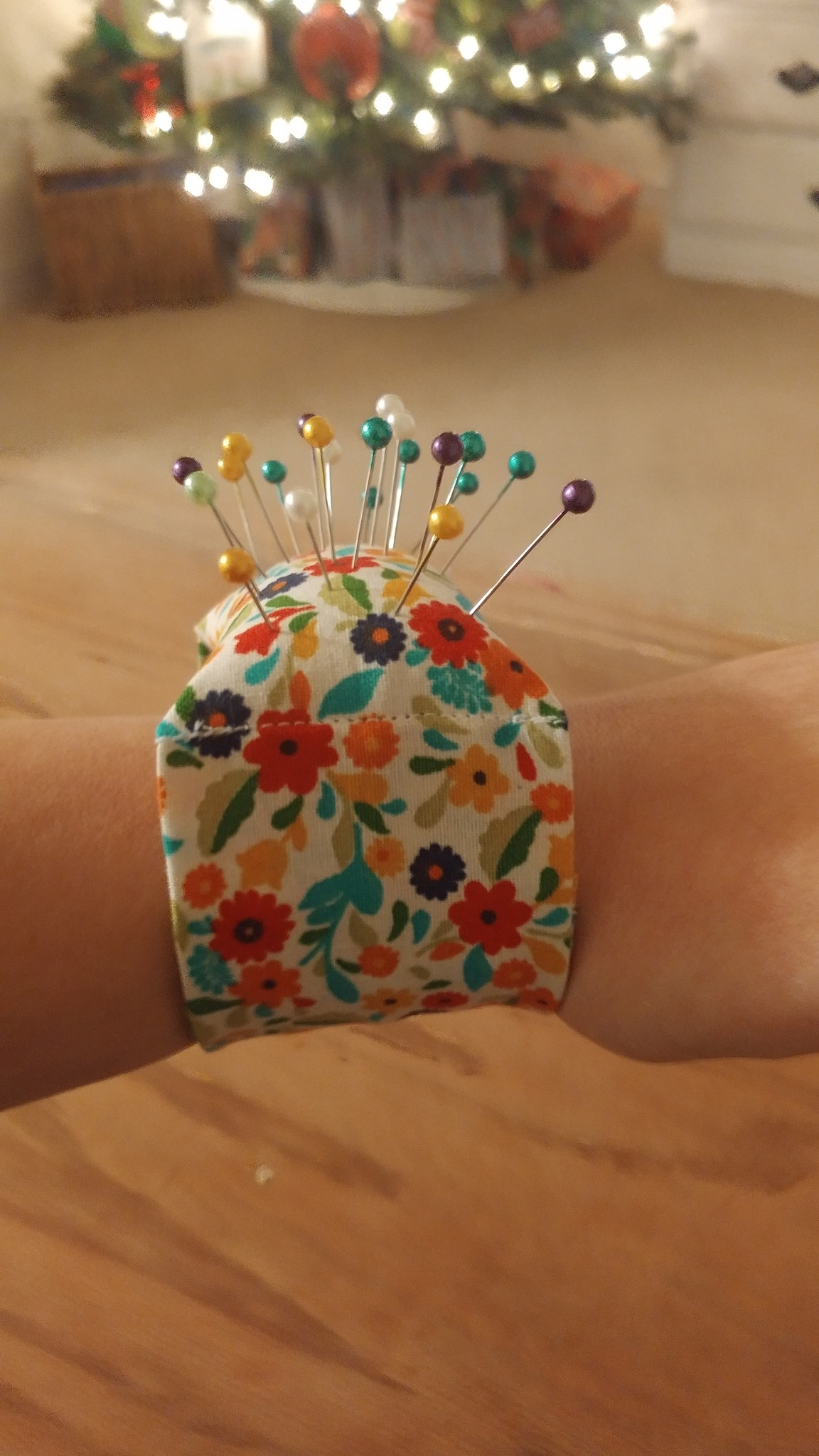 Wristlet Pincushion image