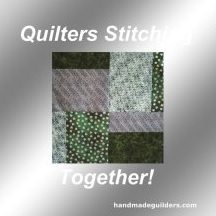 quiltersstitchingtogether.com decal image