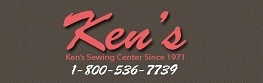 Kens Sewing Center Logo